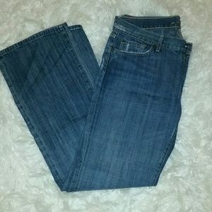 7 for all mandkind jeans size 34x33